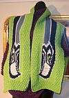 Seahawk Finished scarf
